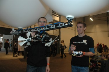 Launching BIC5 at LEGOWorld Cph. 2011!